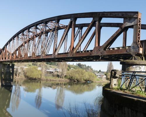 Imagen del monumento Puente Ferroviario sobre el río Chol Chol