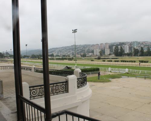 Imagen del monumento La pista de carreras del Valparaíso Sporting Club de Viña del Mar