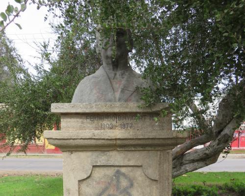 Imagen del monumento Fernando Binvignat