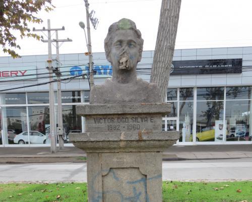 Imagen del monumento Victor Domingo Silva