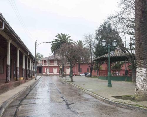 Imagen del monumento Sector que indica de Curepto