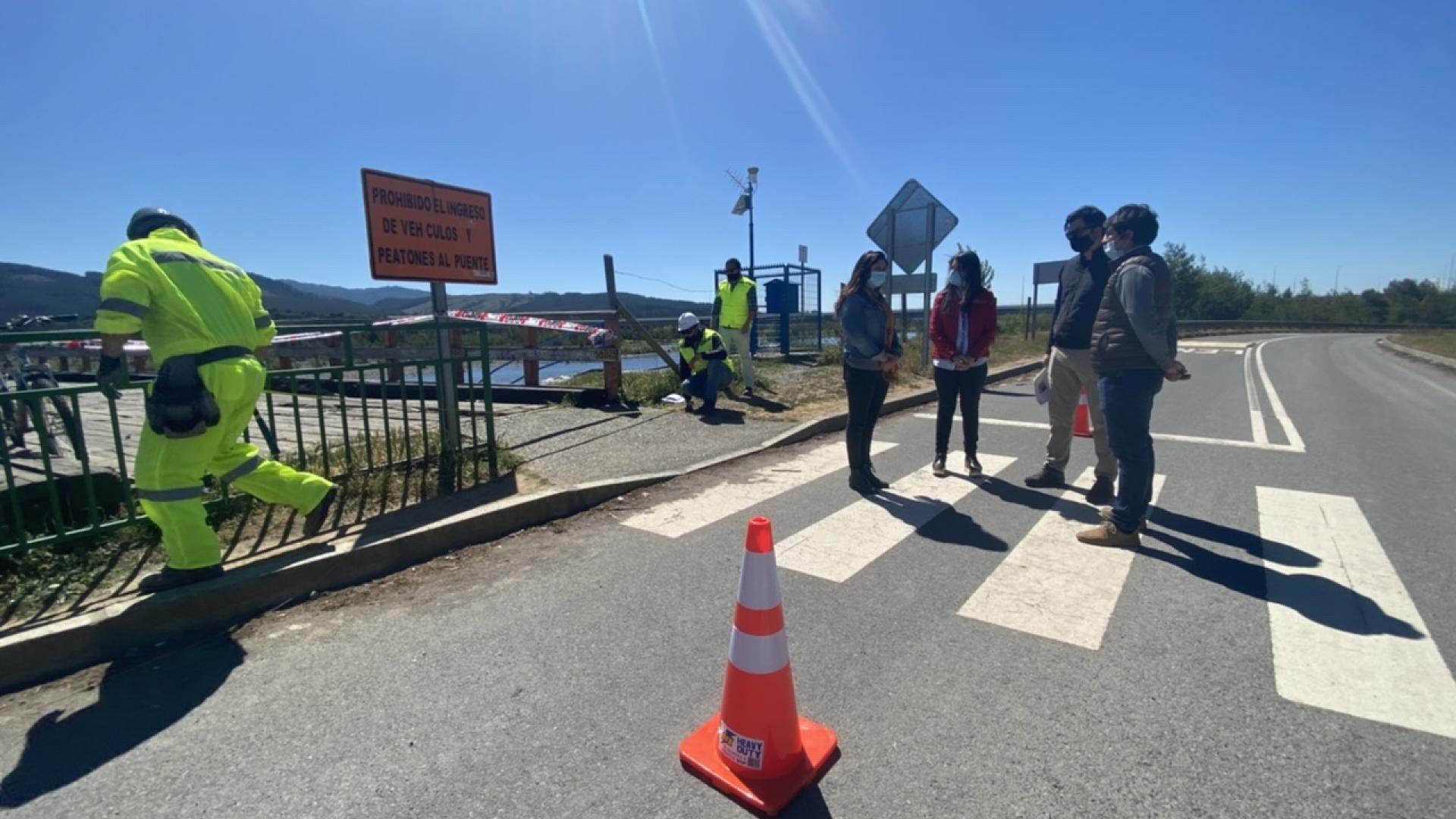 Imagen de Comenzaron obras de cierre provisorio en Puente Confluencia