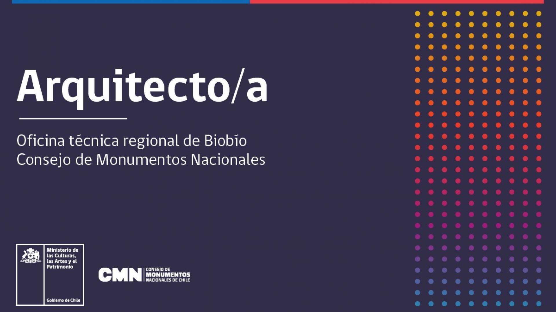 Imagen de Concurso: Arquitecto/a Biobío