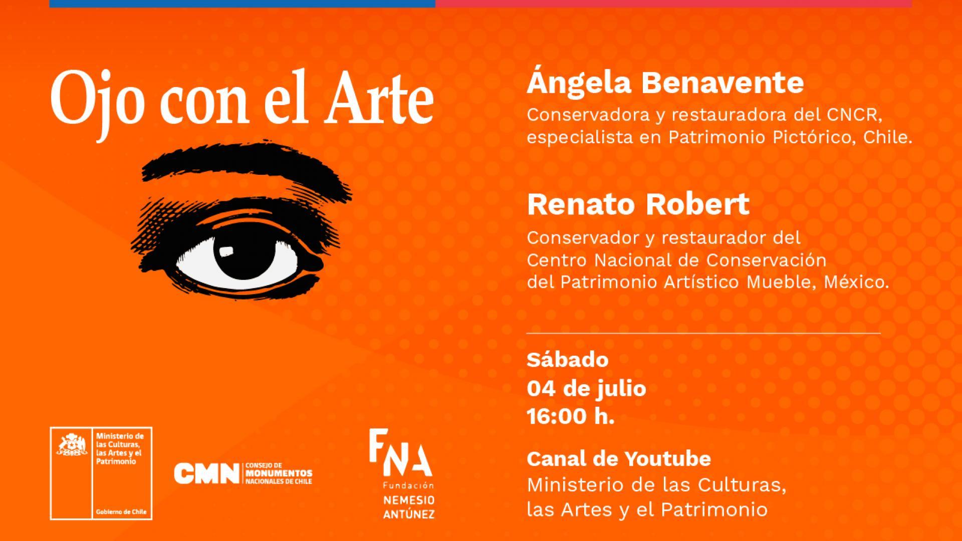 """Imagen de Ministerio de las Culturas y Fundación Nemesio Antúnez reviven emblemático programa de TV """"Ojo con el arte"""""""