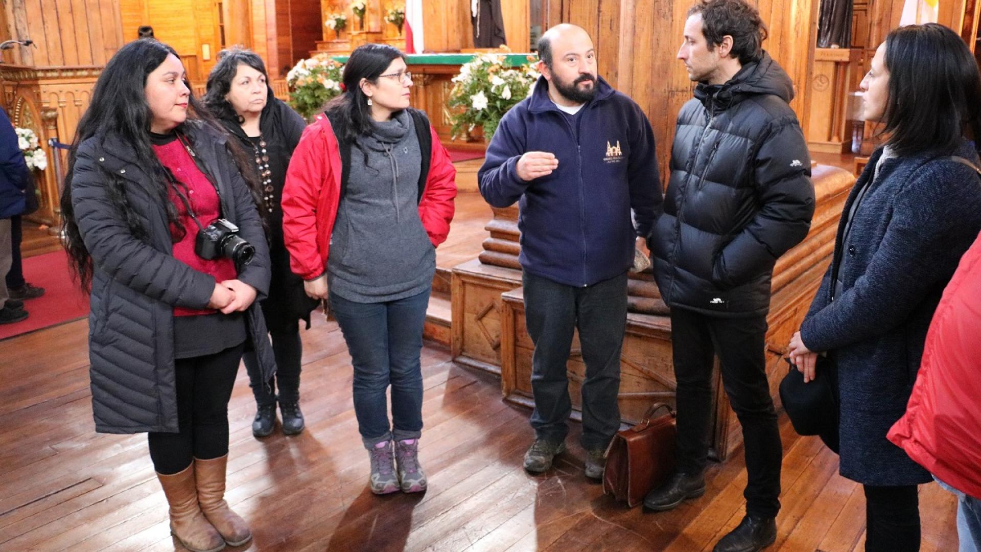 Imagen de Subsecretario de Patrimonio apunta a retomar restauración de iglesias Chiloé y gestión del sitio
