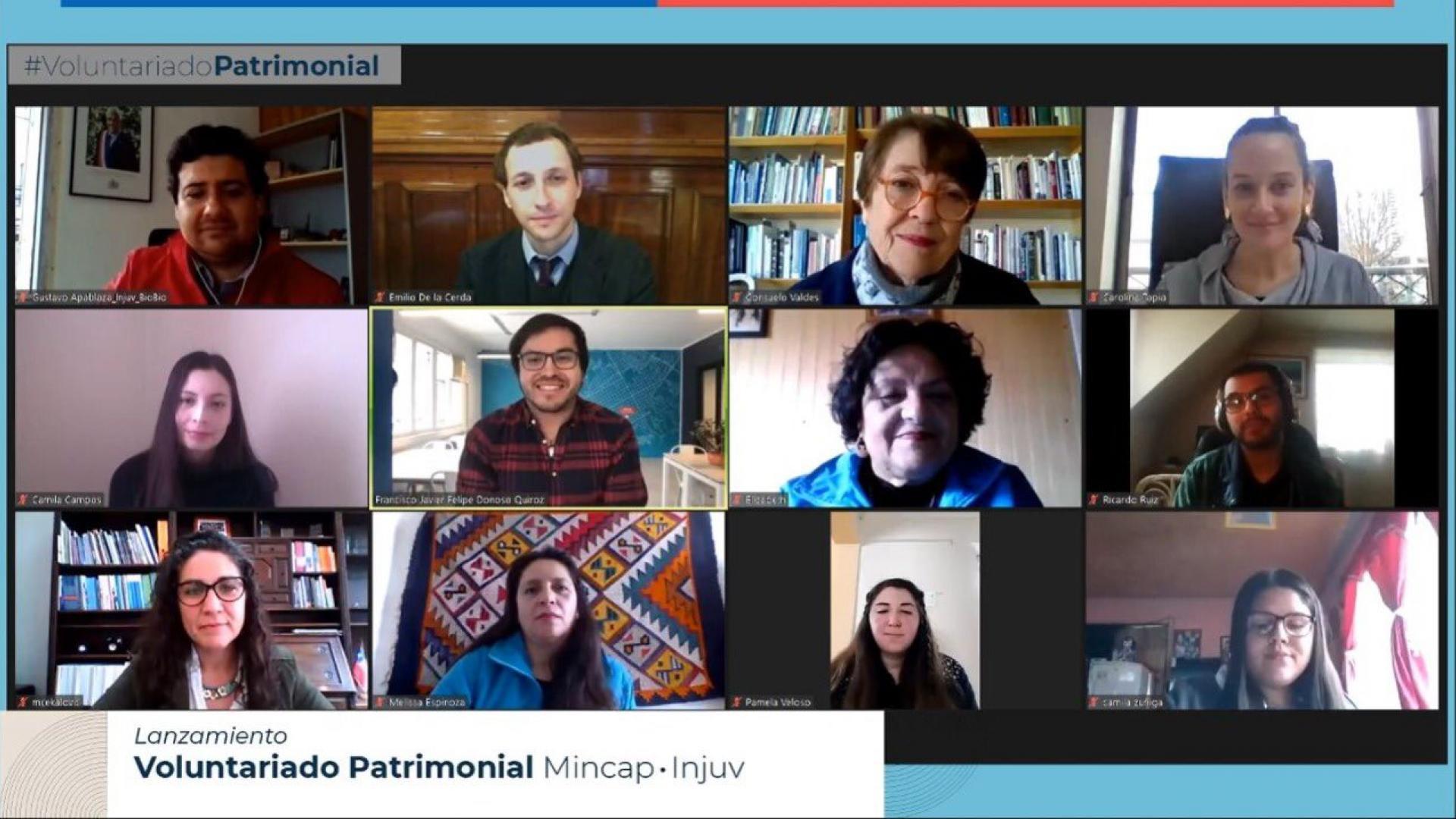 Imagen de Ministerio de las Culturas e INJUV lanzan desde Lota nuevo voluntariado patrimonial para todo el país