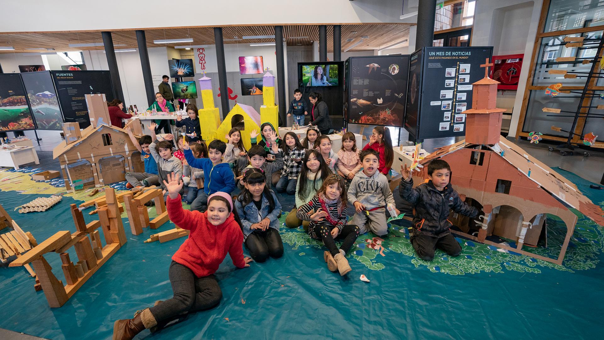 """Imagen de Consejo de Monumentos Nacionales invita a niños y niñas a """"monumentear"""" el barrio Huemul"""