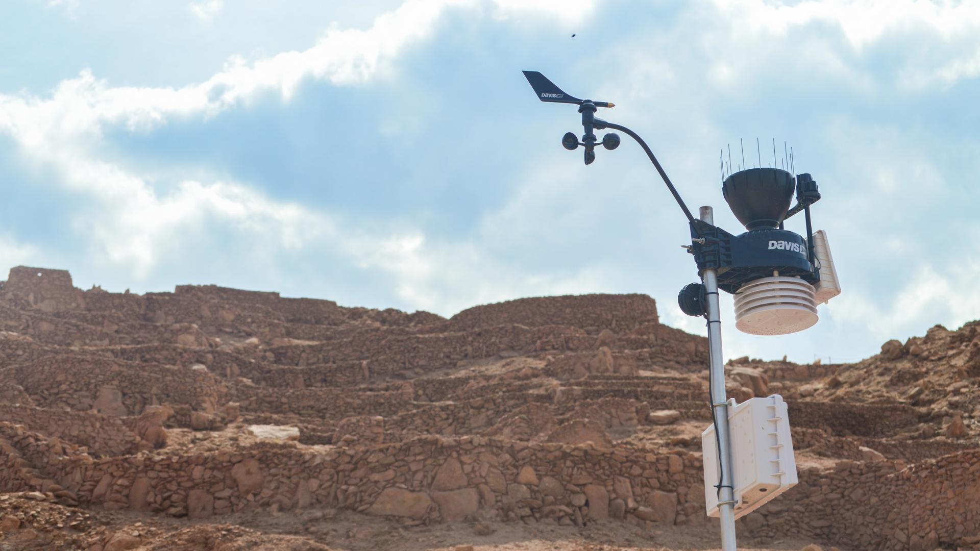 Imagen de Con éxito concluyen obras de emergencia para proteger el Pucará de Quitor: ahora tiene incluso una estación meteorológica