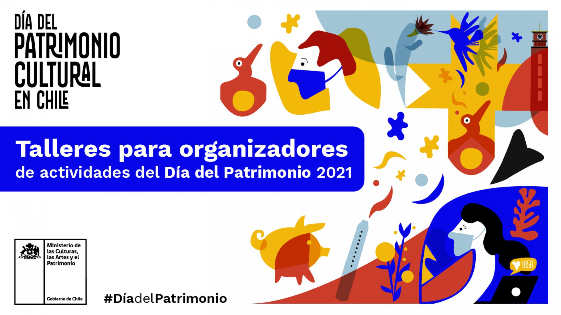 Imagen de Talleres para apoyar a organizadores del #DíaDelPatrimonio 2021