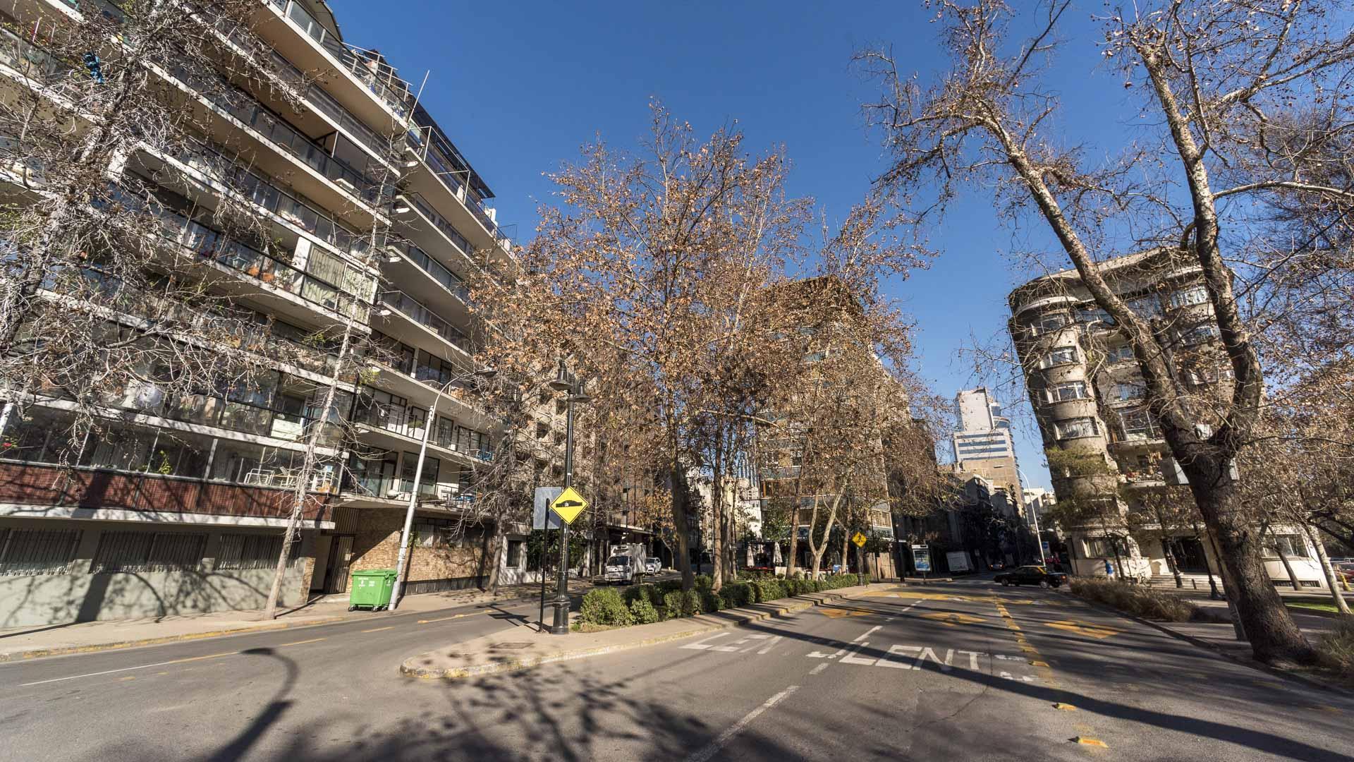 Imagen de Consejo de Monumentos Nacionales, Municipalidad de Santiago y vecinos forman mesa de trabajo para promover el muralismo en Zonas Típica de Parque Forestal-Santa Lucía-Mulato Gil