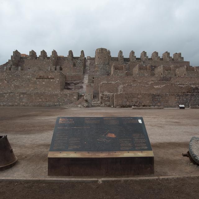 Imagen del monumento Ruinas de la fundición de metales de Huanchaca