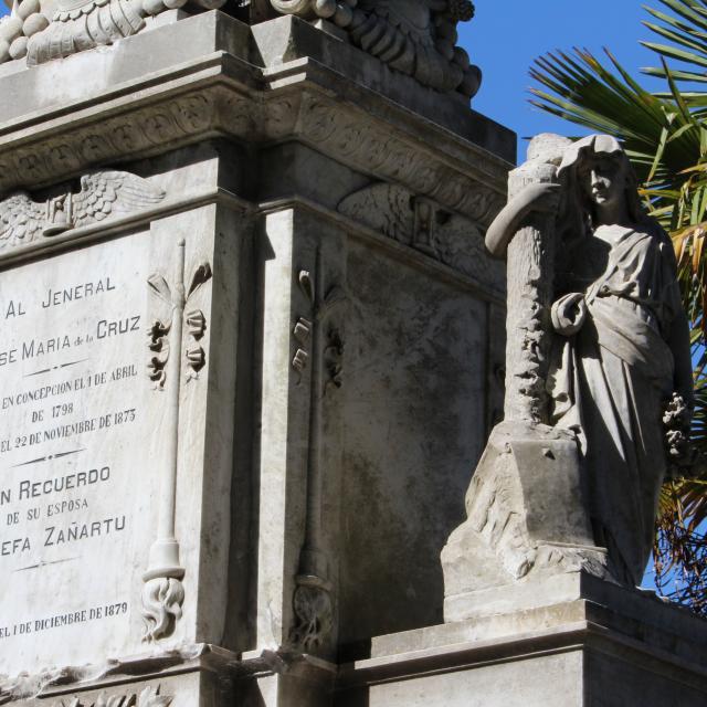 Imagen del monumento Mausoleo del General don José María de la Cruz
