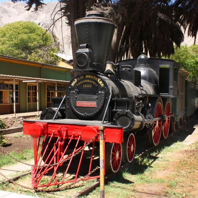 Imagen del monumento Declara locomotora ubicada en Copiapó