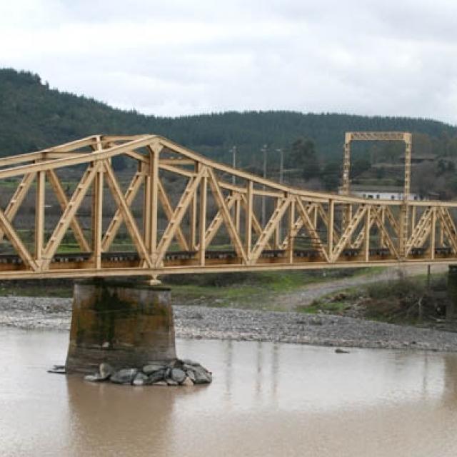 Imagen del monumento Puente ferroviario sobre el río Maule