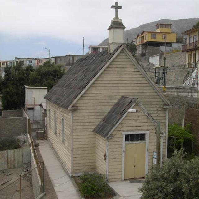 Imagen del monumento Templo Presbiteriano de Chañaral