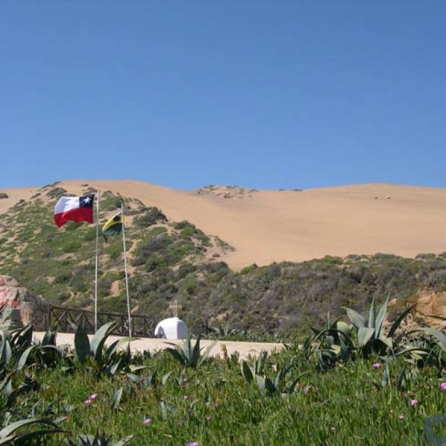 Imagen del monumento Campo Dunar de La Punta de Concón