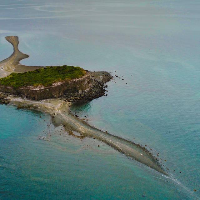 Imagen del monumento Isla Kaikué-Lagartija