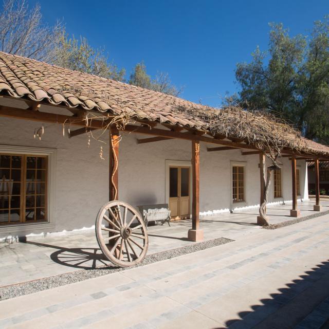 Imagen del monumento Casa donde naciera el ex Presidente de Chile, don Pedro Aguirre Cerda