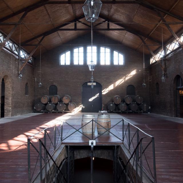 Imagen del monumento Las Bodegas de la viña Santa Carolina