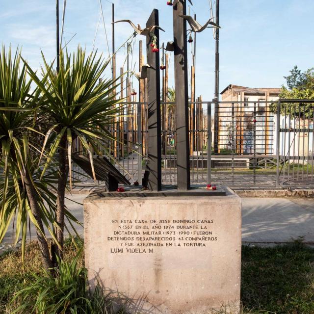 Imagen del monumento Sitio histórico ubicado en Av. José Domingo Cañas Nº 1367