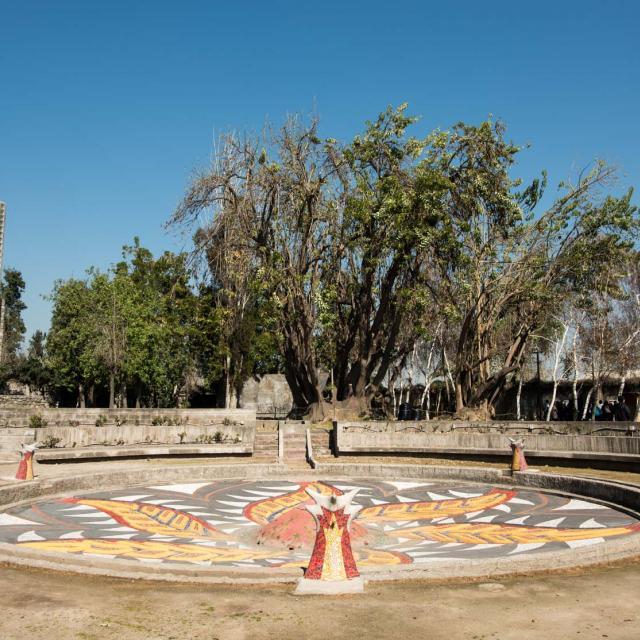 Imagen del monumento Parque por La Paz Villa Grimaldi