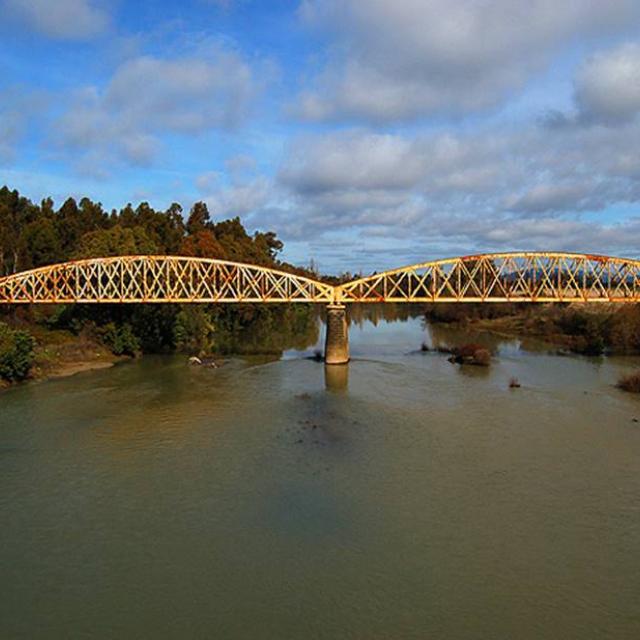 Imagen del monumento Puente ferroviario de Perquilauquén