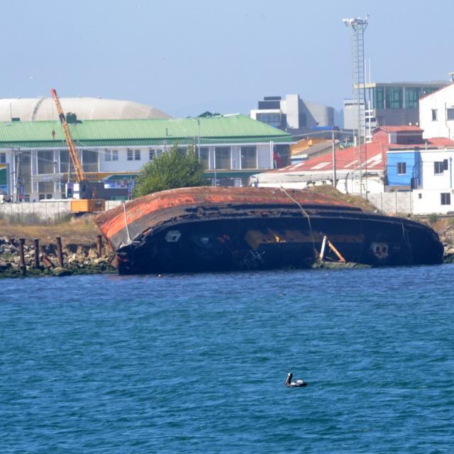 Imagen del monumento Remolcador de alta mar denominado El Poderoso