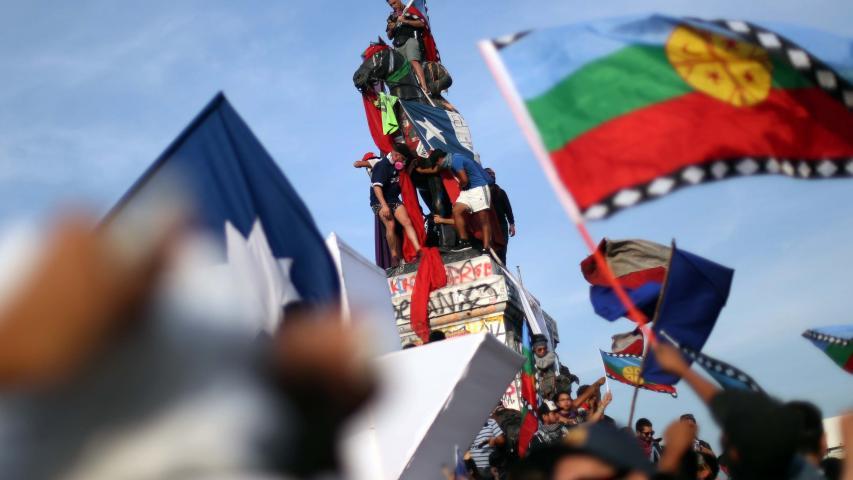 Imagen de Subsecretario del Patrimonio Cultural anuncia querella y pasos a seguir para la protección del monumento a Baquedano