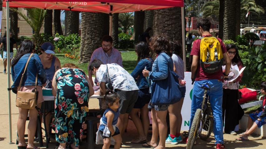 Imagen de Turistas en Pichilemu aprenden a cuidar el Patrimonio