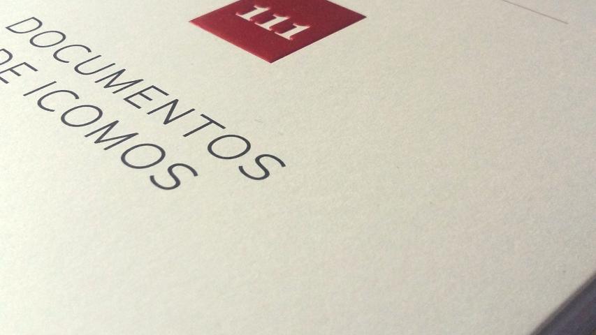 """Imagen de Lanzamiento publicación """"Cuaderno del Consejo de Monumentos Nacionales N°111: Documentos de Icomos"""""""
