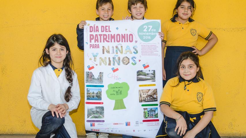 Imagen de Crea el afiche del 1er Día del Patrimonio para Niñas y Niños