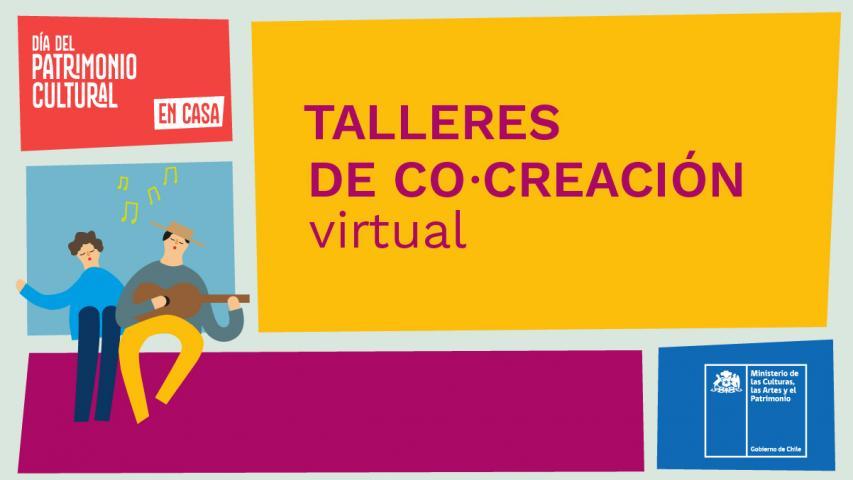 Imagen de Talleres de co-creación para organizadores del #DíaDelPatrimonioEnCasa