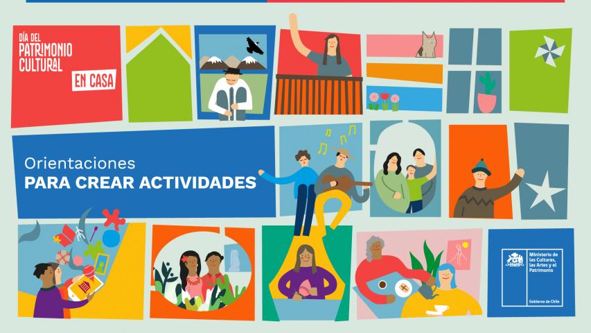 Imagen de #Díadel PatrimonioEnCasa: Orientaciones para crear actividades