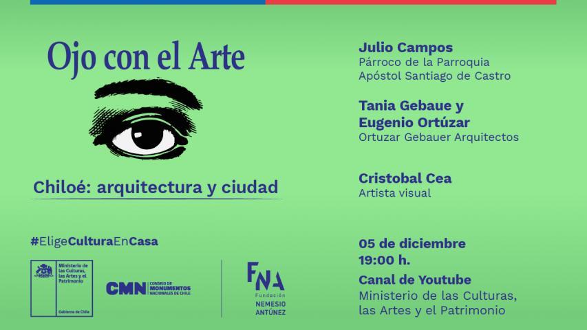 """Imagen de La tradicional arquitectura chilota y sus técnicas constructivas serán las protagonistas del último capítulo de """"Ojo con el Arte"""""""