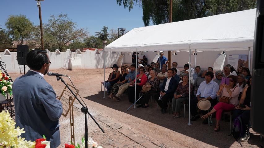 Imagen de Consejo de Monumentos Nacionales inaugura obras que protegerán la estructura de la Iglesia de San Pedro de Atacama