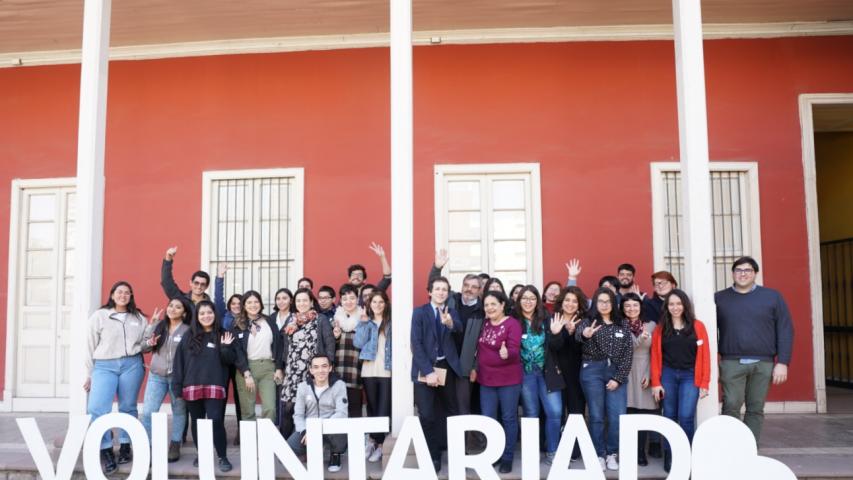 Imagen de Jóvenes participan en jornada de co-creación para levantar  programa de voluntariado patrimonial