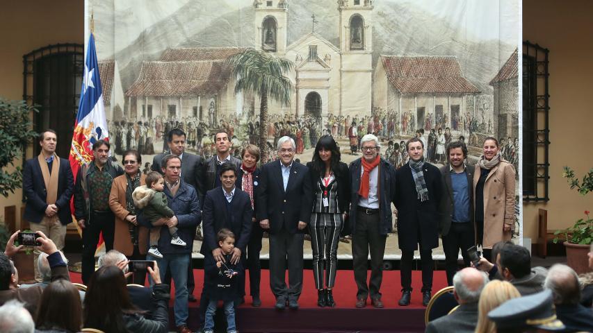 Imagen de Presidente Piñera firma proyecto de ley que promueve el reconocimiento y cuidado del patrimonio cultural de Chile