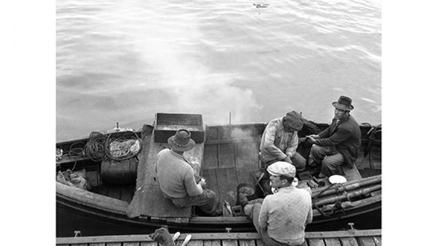 Pescadores artesanales, 1947
