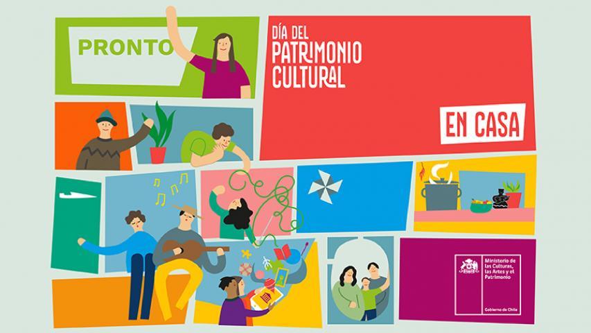 Imagen de Ministerio de las Culturas anuncia #DíadelPatrimonioEnCasa