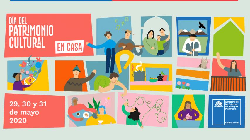 Imagen de Ministerio de las Culturas invita a revisar nutrida cartelera con más de 500 actividades del #DíaDelPatrimonioEnCasa