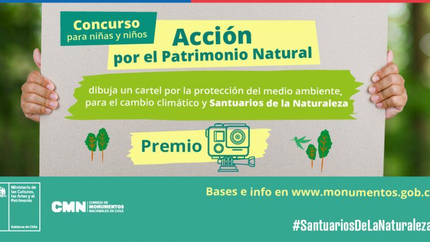 """Imagen de Bases del sorteo para niñas y niños  """"Acción por el medio ambiente"""""""