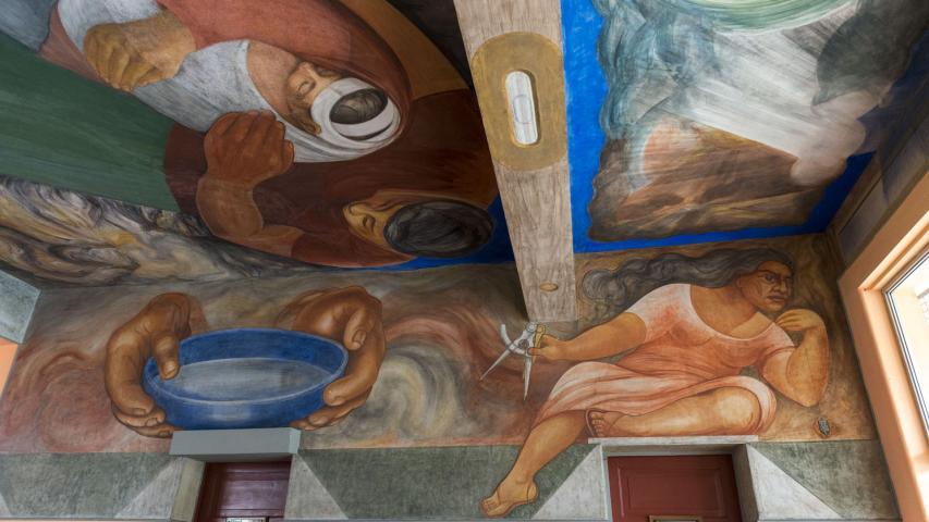 Imagen del monumento Murales de la Escuela México