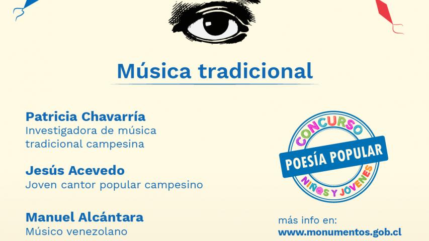 """Imagen de Música tradicional chilena y latinoamericana serán las protagonistas de nuevo capítulo de """"Ojo con el arte"""""""
