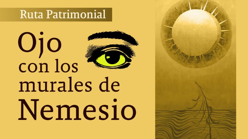 Imagen de Inscríbete: Ruta Patrimonial redescubrirá los murales de Nemesio Antúnez en el centro de Santiago