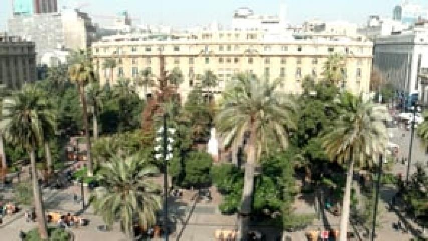 Imagen de Transformación Plaza de Armas de Santiago