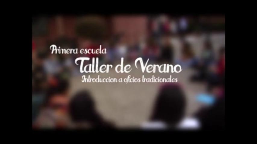 Imagen de Escuela Taller de Verano Introducción a Oficios Tradicionales Valparaíso