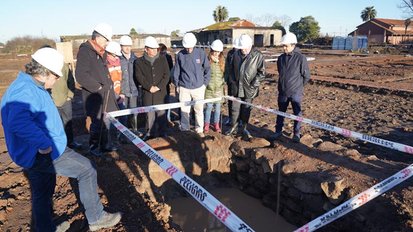 Imagen de Ruinas de antiguo Hospital San Juan de Dios son clave para construcción de nuevo centro hospitalario