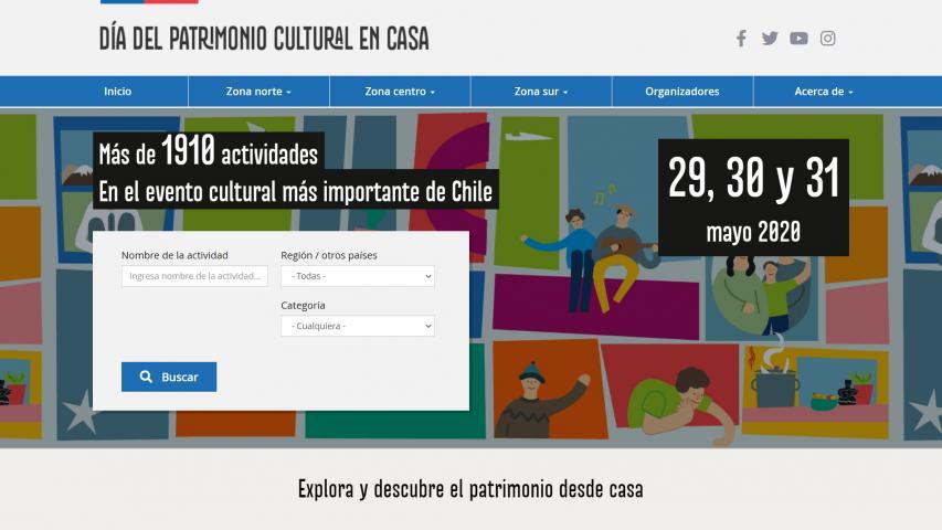 Imagen de Con amplia convocatoria concluye la inédita versión del #DíaDelPatrimonioEnCasa