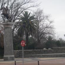 Imagen del monumento Entorno del Mural de María Martner ubicado en el Parque Monumental Bernardo O´Higgins de Chillán Viejo