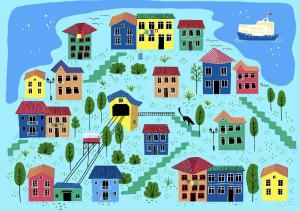 Imagen de Dibuja Tu Ciudad La Visión de Niñas y Niños